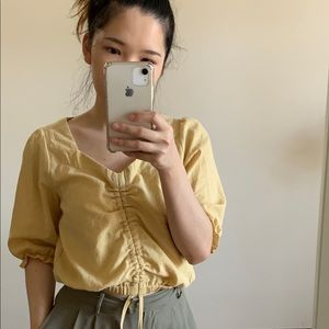 Tops - Yellow Blouses
